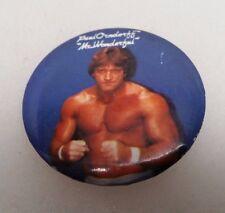 1985 Titan Sports Mr. Wonderful Paul Orndoff Lapel Pin Button Vintage Rare
