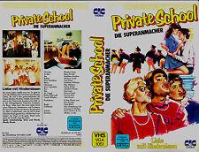 VHS - Privado ESCUELA - La Superanmacher 1983) Phoebe Cates - Betsy Russell