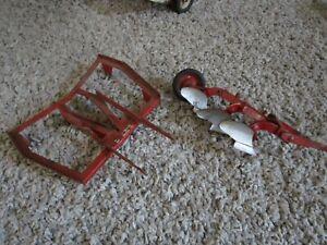 JI Case IH Farmall McCormick Farm Toy Tru Scale Eska Carter Tillage Disk Plow