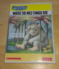 Read With Me DVD software Where The Wild Things Are Fisher Price Scholastic Rare