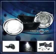 2008 2009 2010 TOYOTA HIGHLANDER JDM BUMPER LED CLEAR FOG LIGHTS +COVER +HARNESS