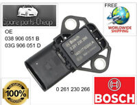 BOCSH 0 261 230 266 VW/AUDI MAP SENSOR A4 SKODA OCTAVIA VW GOLF PASSAT 1.9 TDI