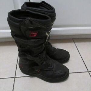 Youth Alpinestars Tech 3 Motocross Boots Size 5
