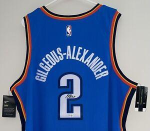 Shai Gilgeous-Alexander Autographed Nike NBA Signed Swingman Jersey FANATICS COA