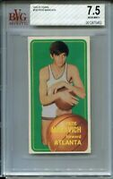 1970 Topps Basketball #123 Pete Maravich Rookie Card RC Graded BVG Nr MINT+ 7.5