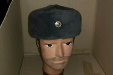 EAST GERMAN WINTER FUR HAT - COLD WAR WARSAW PACT COLLECTIBLE MINT UNISSUED
