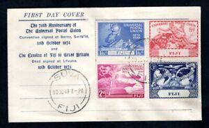 Fiji - 1949 UPU First Day Cover