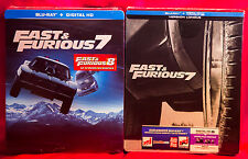 Fast And Furious 7: Vin Diesel Limited Edition Steelbook With Slipcover NEW
