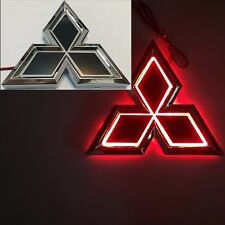 5D LED Car Tail Logo Red Light for Mitsubishi Outland Lancer  Auto Badge Light