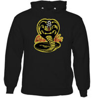Cobra Kai Mens Funny Karate Kid Inspired Hoodie Mr. Kesuke Miyagi Martial Arts