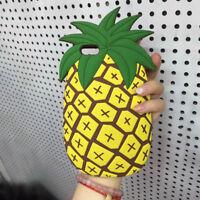 3D Cartoon Hot Cute Kawaii Food Silicone TPU Phone Case Cover Back For iPhone