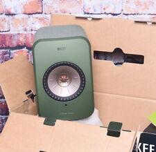 KEF LSX >>grün<<  chic Drahtlos Lautsprecher - Monitor NEUWARE
