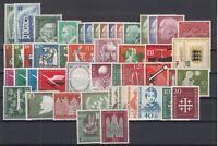 Z4666/ GERMANY BUND – 1953 / 1957 MINT MNH SEMI MODERN LOT – CV 440 $