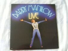 Barry manilow - live - double vinyl album