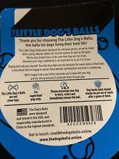 New listing The Little Dog's Balls, Dog Tennis Balls, Quality Dog Toys 6 Small Balls (Blue)