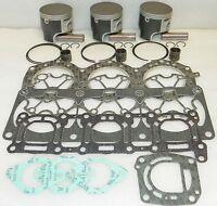 WSM Yamaha 1100 Platinum Piston Top End Rebuild Kit PWC 010-827-24P 1mm SIZE