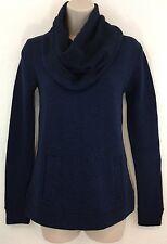 NWT J CREW XXS Factory Blue Funnelneck Sweatshirt Sweater $88