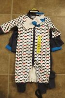 NEW Absorba Baby Boys Size 6 Mo 5 Piece Matching Set Outfit Mustache Clothing