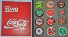 12 Yoyo Collection of RUSSELL PROMOTIONAL Set Coca Coke Cola, Sprite, Fanta