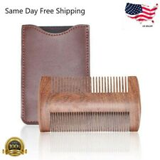 Natural Sandalwood Comb Beard Comb Pocket Size Comb Massage Hair Care Comb US