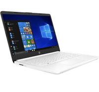 "NEW- HP 14"" HD Intel N4020 4GB RAM 64GB eMMC Webcam BT Win 10"