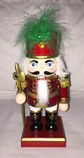 """Pier 1 Imports One Holiday Christmas Wood Nutcracker 9"""" x 3.5"""" Toy Soldier New"""