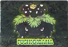 POKEMON JAPANESE FUSHIGIBANA VENUSAUR FOIL EMBOSSED CARD