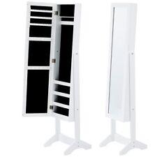 Schminktisch Schmuck kleiner Schrank Schmuck-Boxen Spiegel mit Tür Gegenstände