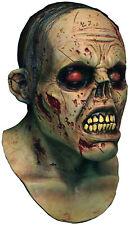 Mens Zombie Mask Scary Full Overhead Latex Rubber Bloody Halloween Horror Maske