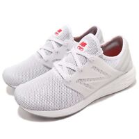 New Balance MCRUZRW2 D White Red Men Running Shoes Sneakers Trainers MCRUZRW2D