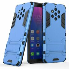 For Nokia 9 Pure View Rubber Silicon TPU PC Robot Armor Back Phone Cases Covers