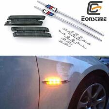 LED Smoke Side Marker Lights Turn Signals For BMW E90 E91 E92 E93 3 Series E61