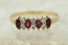 Band Engagement Ruby Fine Rings