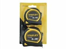 Stanley Tylon Pocket Tape Measures TWIN Pack 5m/16ft + 8m/26ft STA998985