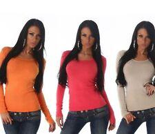 Frühling Damen-Pullover & -Strickware aus Baumwolle