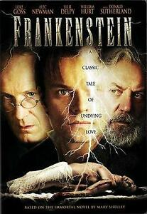 Like New FS DVD Frankenstein Luke Goss Alec Newman Julie Delpy Nicole Lewis FS