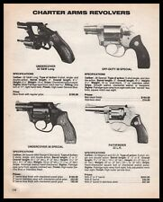 1987 Charter Arms Undercover, Off-Duty 38 Special, Pathfinder Revolver Ad