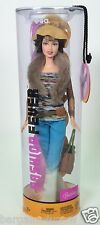 2004 FASHION FEVER BARBIE TERESA FUR SCARF MULTI COLORED TOP FADED JEANS HAT NIB