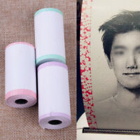 3 Rolls Lace Printing Paper Sticker 57*30mm Fit for PAPERANG P1 Printer