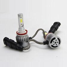 2X Car H8 H9 H11 6000K 36W HID LED Headlight Light Kits C6 Cob LED Lamp Blubs