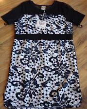 Angel Biba Lace Short Sleeve Dresses for Women