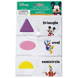 EU 867416 Mickey Mouse Disney Learn the Shapes Puzzle Set Preschool Teacher