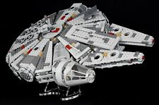 Star Wars Lego 75105 Millennium Falcon - angled - custom display stand only