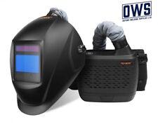 TECMAN Air Fed Welding Helmet / Mask PAPR / BLACK