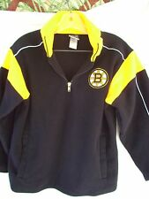 BOSTON BRUINS YOUTH MY NHL HOCKEY APPAREL HEAVY SWEATSHIRT SIZE MDM