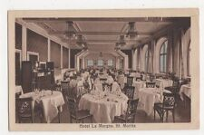 Switzerland, St. Moritz, Hotel La Margna Advert Postcard, B362