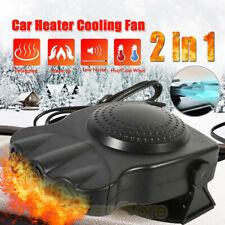 12V Portable Car Heater Cooling Fan Heater Defroster Demister Hot & Cold Fan