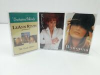 Country Cassette Tapes Lot of 3 Wynonna The Other Side Reba McEntire Leann Rimes