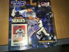 Chipper Jones Atlanta Braves 2000 Hasbro SLU Starting Line Up Figure IP JK