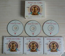 COFFRET 3 CD AFRICAN CHILL CHILLED AFRICAN GROOVES 30 TITRES COMPILATION 2008